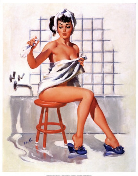 pin up girls 04 in The Best Pin up Girl Paintings