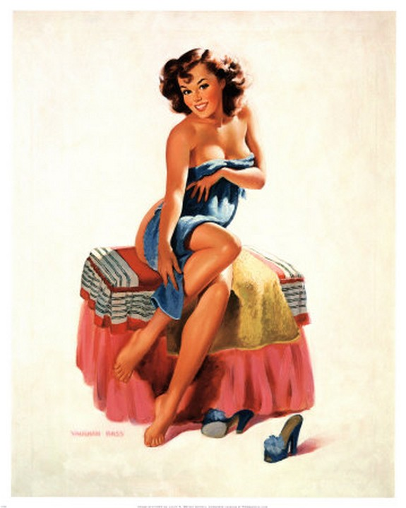pin up girls 05 in The Best Pin up Girl Paintings
