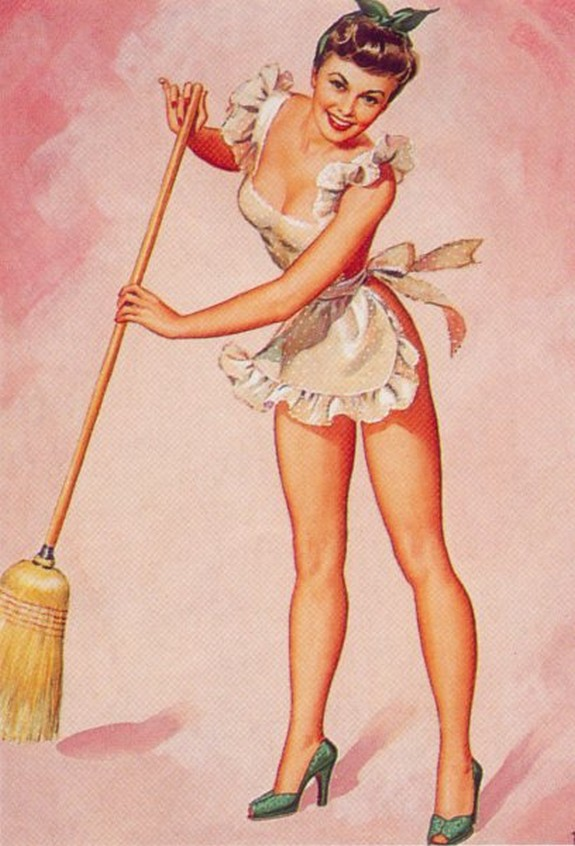 The best pin up girl paintings for Classic 50s housewife