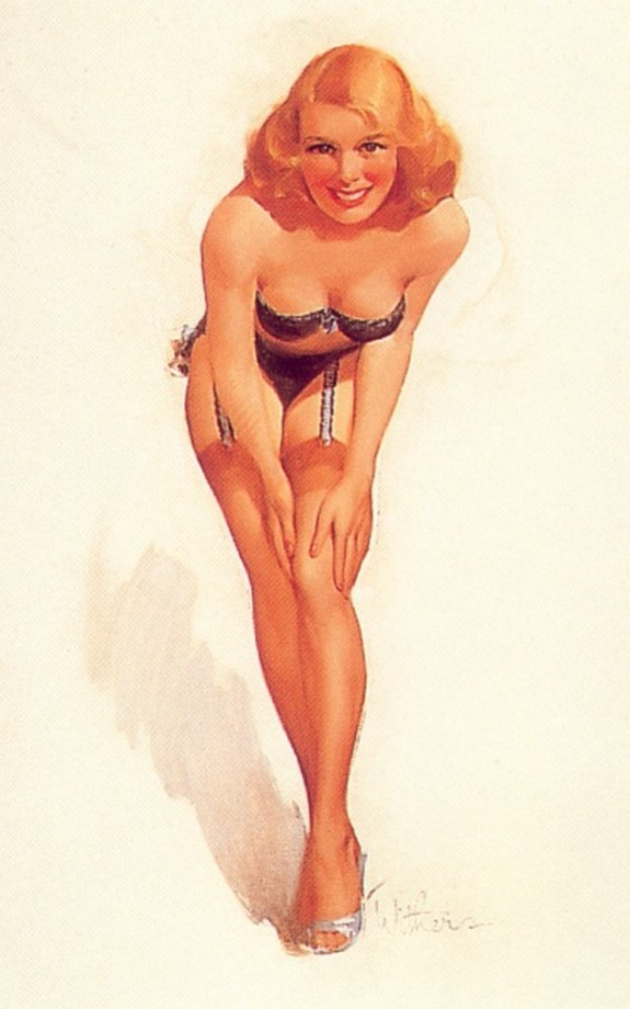 pin up girls 10 in The Best Pin up Girl Paintings