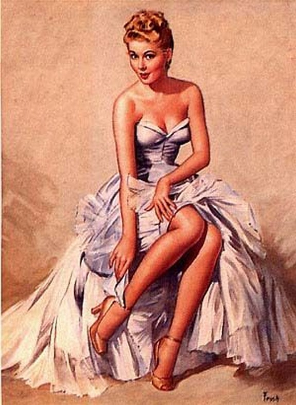 pin up girls 11 in The Best Pin up Girl Paintings