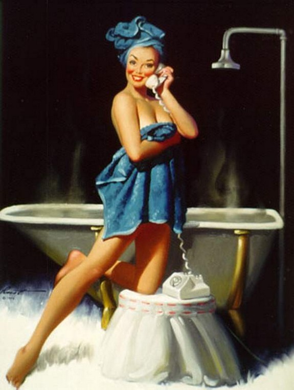 pin up girls 13 in The Best Pin up Girl Paintings