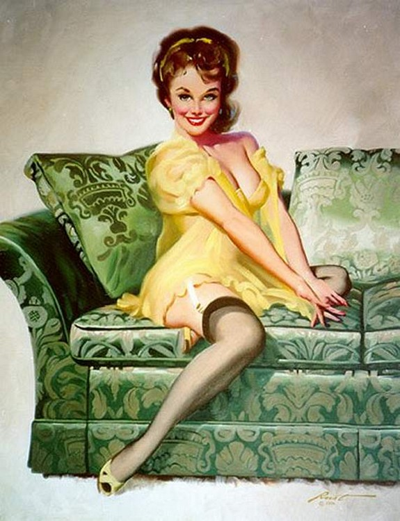 pin up girls 14 in The Best Pin up Girl Paintings