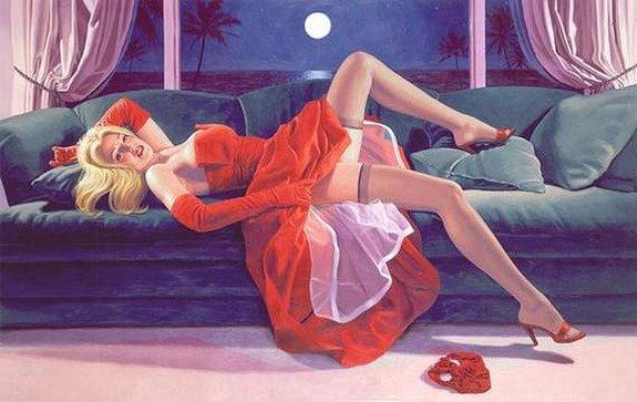 pin up girls 15 in The Best Pin up Girl Paintings