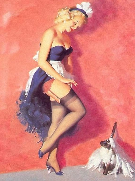 pin up girls 18 in The Best Pin up Girl Paintings