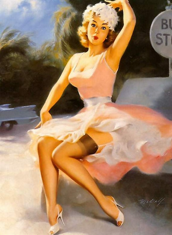 pin up girls 20 in The Best Pin up Girl Paintings