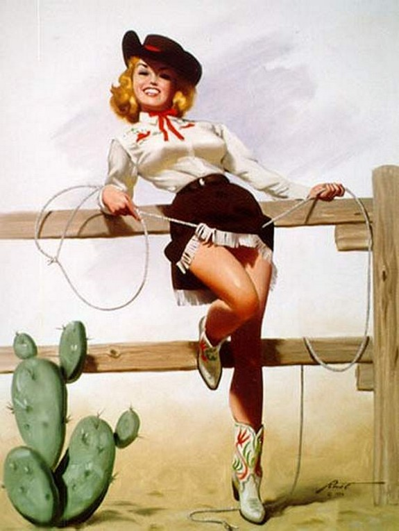 pin up girls 23 in The Best Pin up Girl Paintings