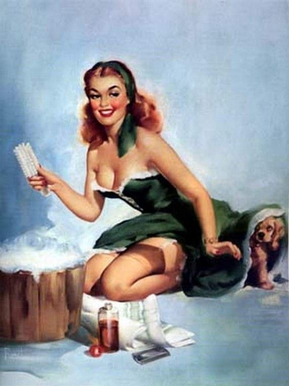 pin up girls 31 in The Best Pin up Girl Paintings