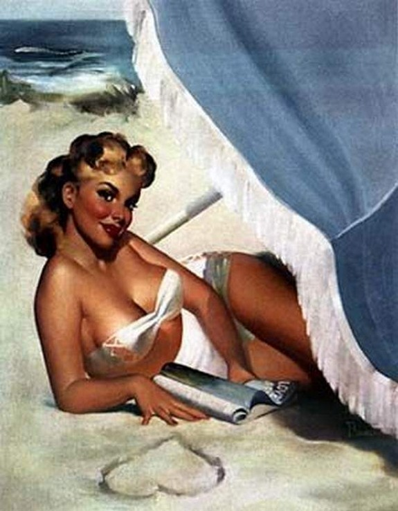 pin up girls 35 in The Best Pin up Girl Paintings