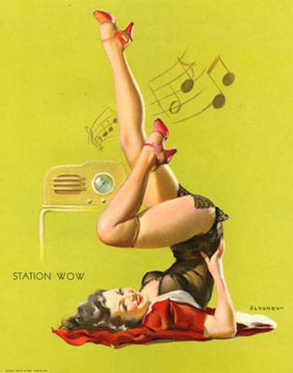 pin up girls 38 in The Best Pin up Girl Paintings