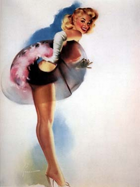 pin up girls 42 in The Best Pin up Girl Paintings