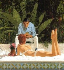Paintings by Robert McGinnis