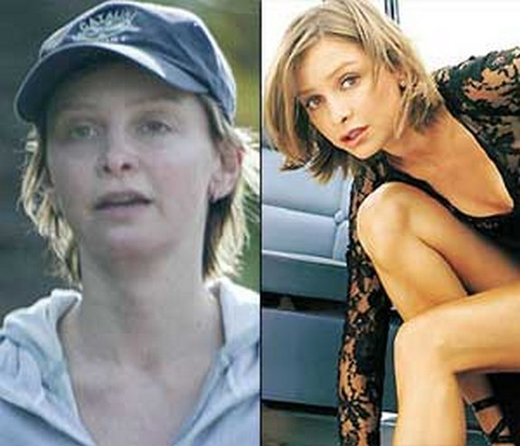 before and after make up 04 in Celebrities Before and After Make up