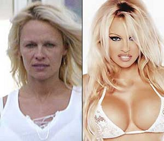 before and after make up 16 in Celebrities Before and After Make up
