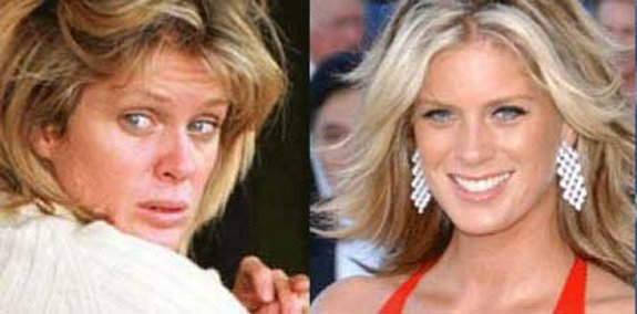 before and after make up 19 in Celebrities Before and After Make up