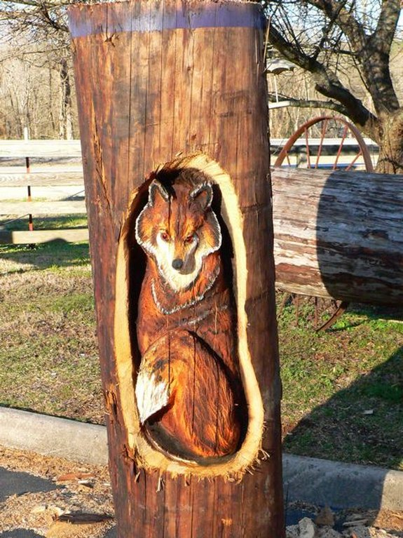 chainsaw wooden art 26 in Awesome Chainsaw Wooden Art
