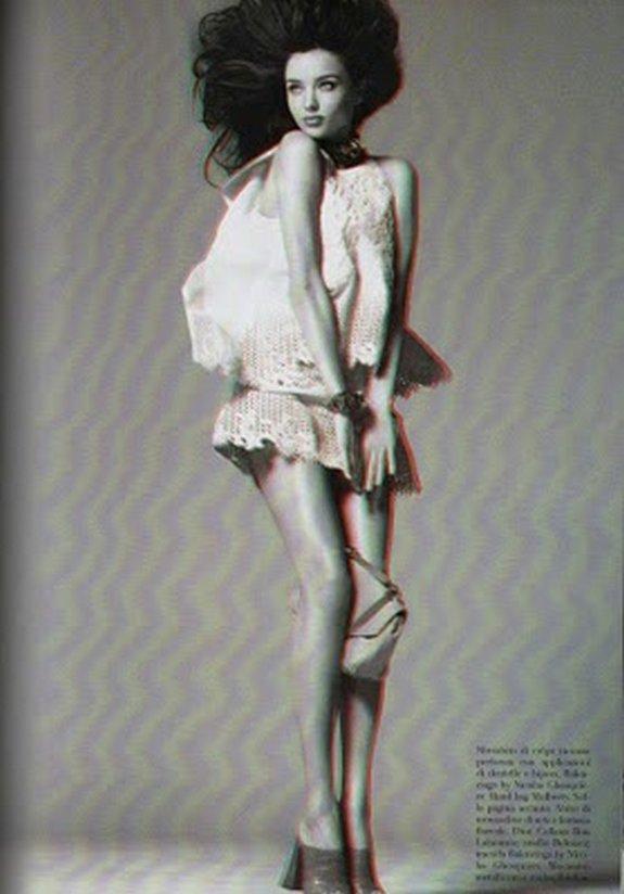 miranda kerr in 3d 11 in Steven Meisel Shoots Miranda Kerr in 3D