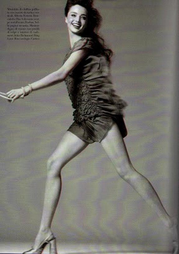 miranda kerr in 3d 17 in Steven Meisel Shoots Miranda Kerr in 3D
