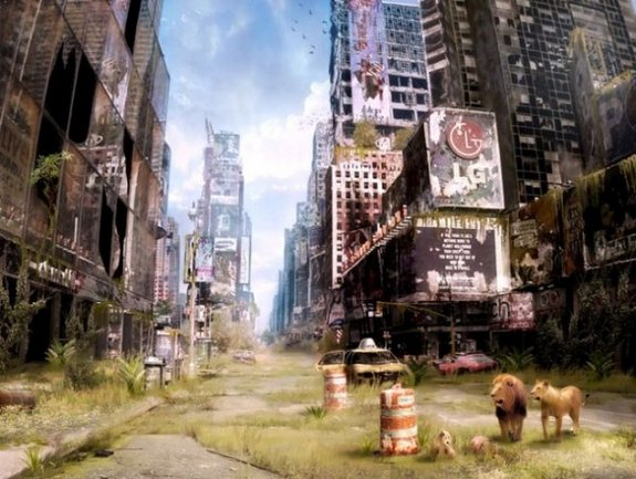 post apocalyptic world 19 in Realistic Post Apocalyptic World by Vladimir Manyuhin