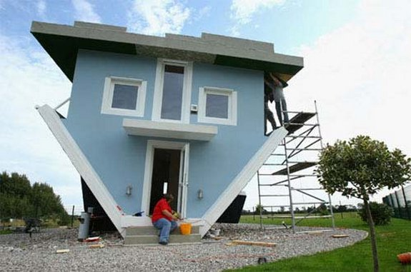 Amazing Upside Down House In Germany