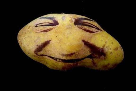 Potato Face People Are Looking Back At You