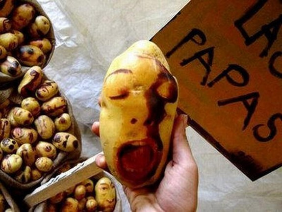 amazing potato art 01 in Potato Face People Are Looking Back At You