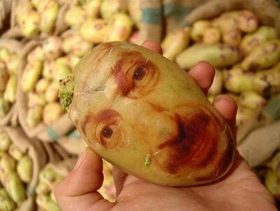 amazing potato art 02 in Potato Face People Are Looking Back At You