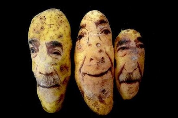 amazing potato art 05 in Potato Face People Are Looking Back At You