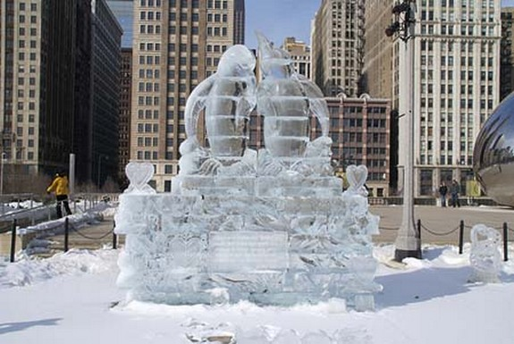 captivating ice sculptures beyond your imagination 02 in Top 10 Most Imaginative Ice Sculptures