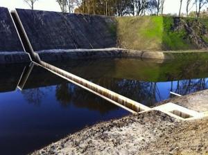 Moses Bridge Astonishingly Splits Water