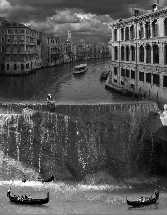whimsically surreal photo montages 02 in Whimsically Surreal Photo Montages by Thomas Barbéy