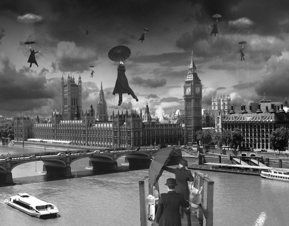 whimsically surreal photo montages 03 in Whimsically Surreal Photo Montages by Thomas Barbéy