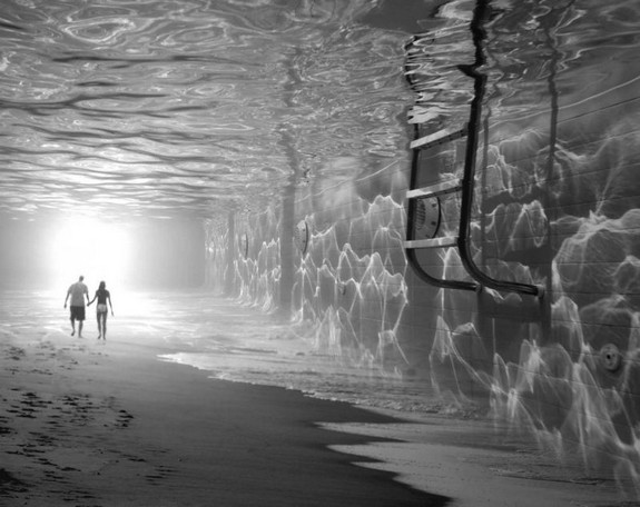whimsically surreal photo montages 05 in Whimsically Surreal Photo Montages by Thomas Barbéy