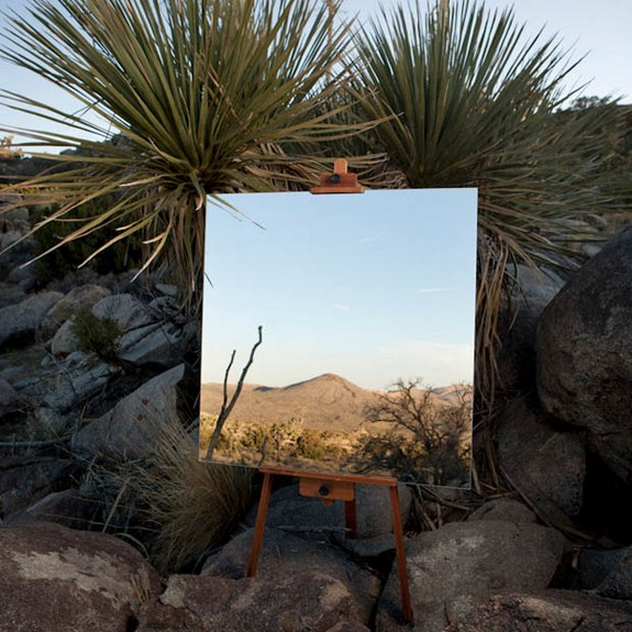 photographs of mirrors in the desert 01 in Photographs of Mirrors in the Desert