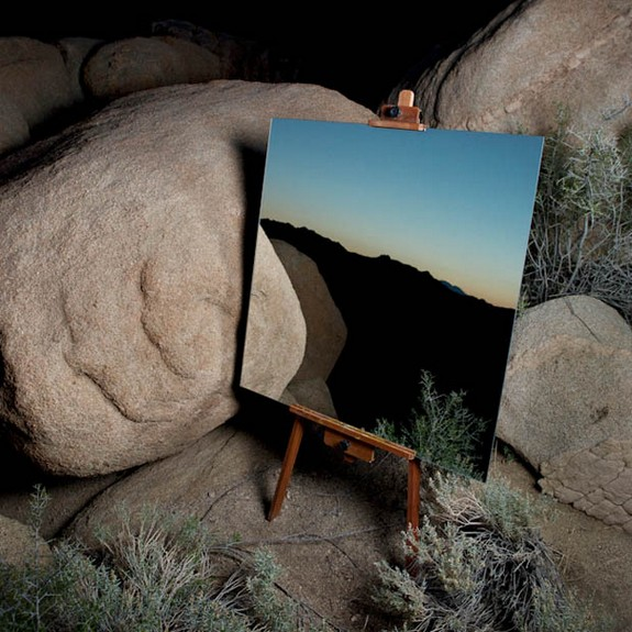photographs of mirrors in the desert 02 in Photographs of Mirrors in the Desert