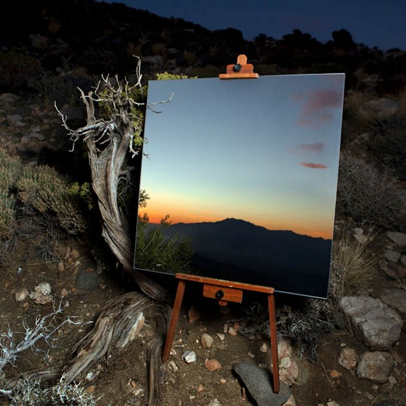 photographs of mirrors in the desert 03 in Photographs of Mirrors in the Desert
