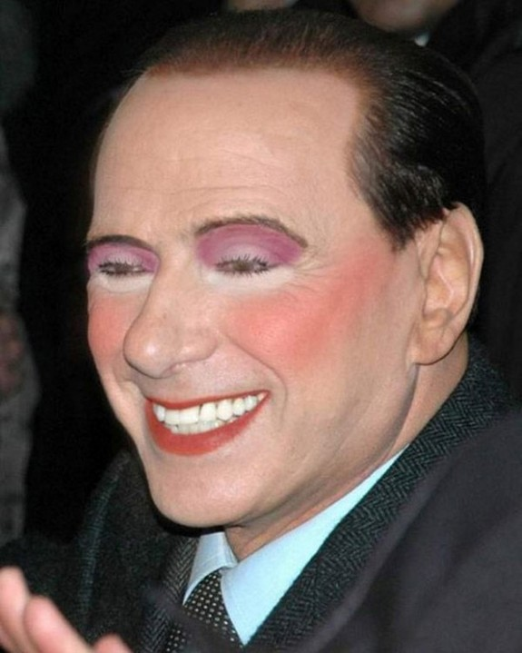 politicians with makeup 02 in 17 Wacky Photos of Politicians With Makeup