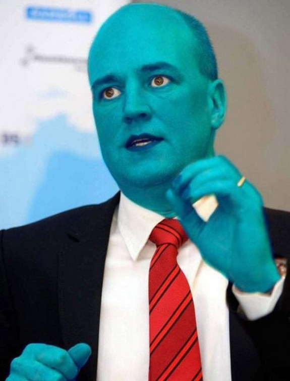 politicians with makeup 03 in 17 Wacky Photos of Politicians With Makeup