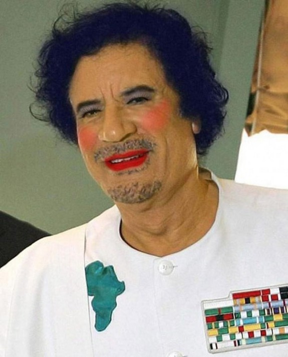 politicians with makeup 05 in 17 Wacky Photos of Politicians With Makeup