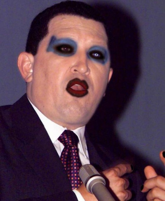politicians with makeup 06 in 17 Wacky Photos of Politicians With Makeup