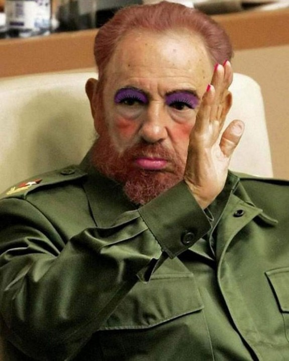 politicians with makeup 08 in 17 Wacky Photos of Politicians With Makeup