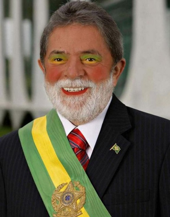 politicians with makeup 09 in 17 Wacky Photos of Politicians With Makeup