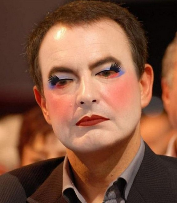 politicians with makeup 12 in 17 Wacky Photos of Politicians With Makeup