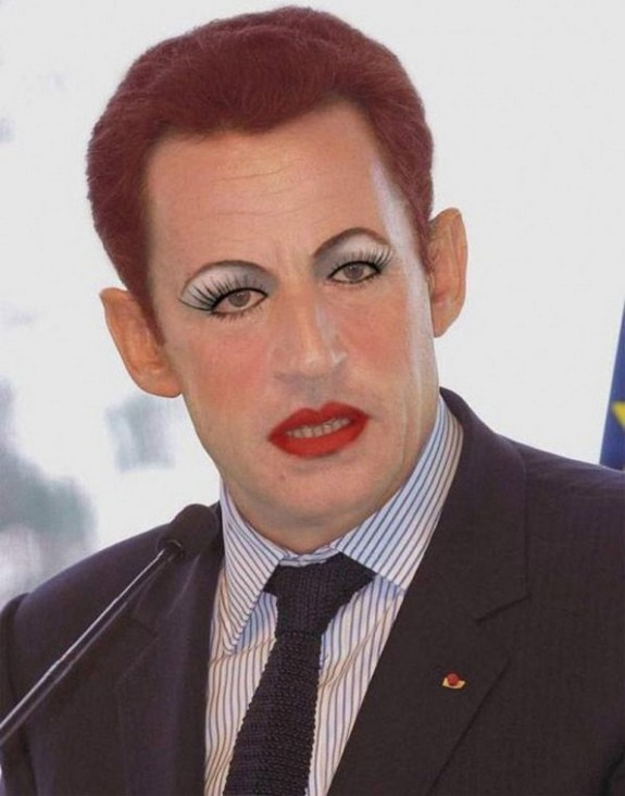 politicians with makeup 13 in 17 Wacky Photos of Politicians With Makeup