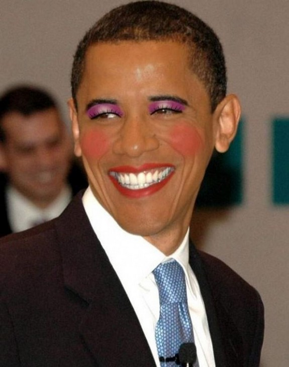 politicians with makeup 14 in 17 Wacky Photos of Politicians With Makeup