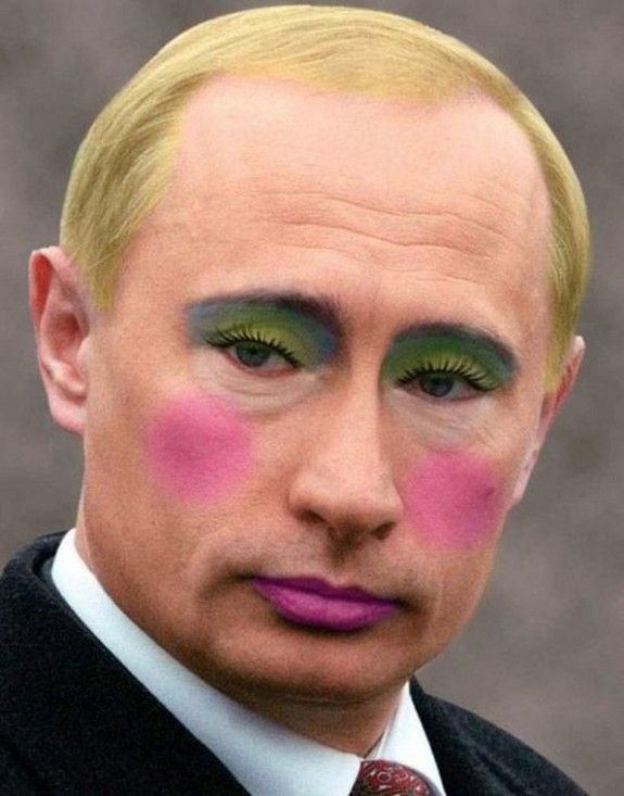 politicians with makeup 15 in 17 Wacky Photos of Politicians With Makeup