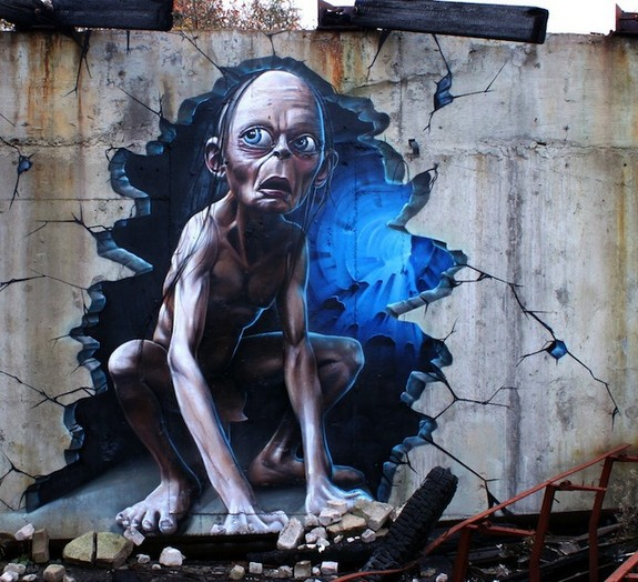 street art photos 07 in 20 Finest Examples of Street Art Around The Globe