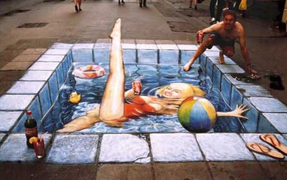 amazing art 01 in 3D Street Art on the Pavements Around the World
