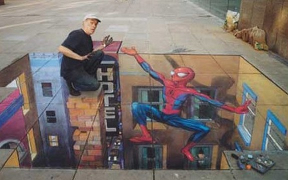 amazing art 04 in 3D Street Art on the Pavements Around the World