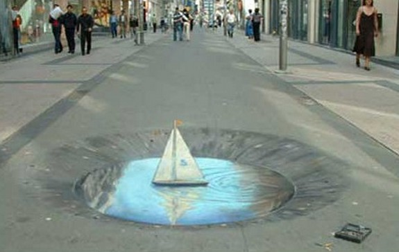amazing art 09 in 3D Street Art on the Pavements Around the World